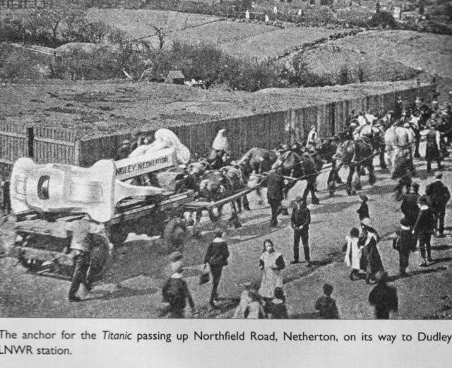 N. Hingley & Sons Ltd : le constructeur de l'ancre du Titanic Thursd10