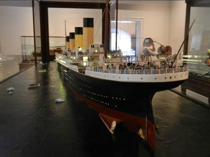 Au musée maritime de la mer à Savannah [Géorgie, USA] Titani14
