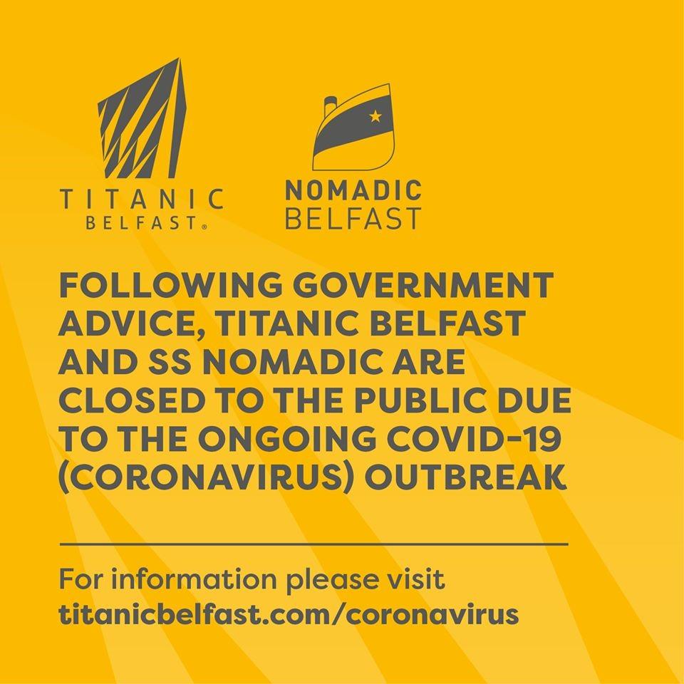 Covid-19 : impact sur les sites touristiques liés au Titanic Titani25