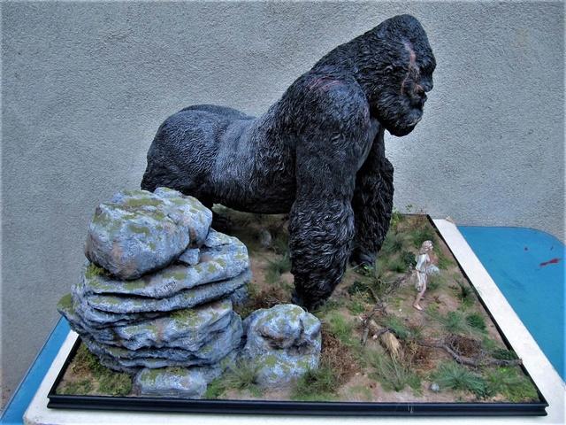 King Kong diorama. Kong110