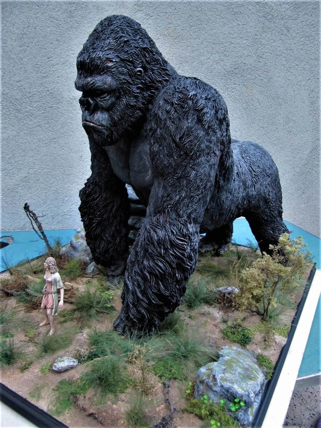 King Kong diorama. Kong1210