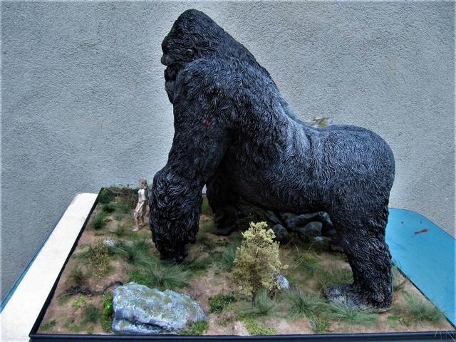 King Kong diorama. Kong1510
