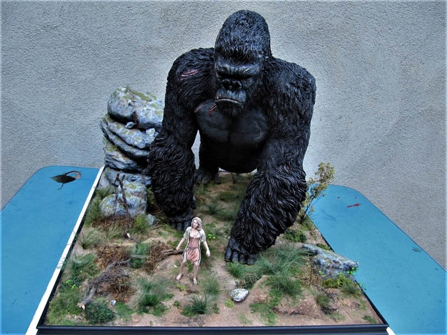 King Kong diorama. Kong810