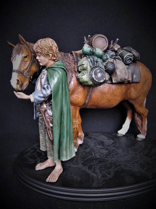 repaint statue weta sideshow bowen . - Page 8 Poney211