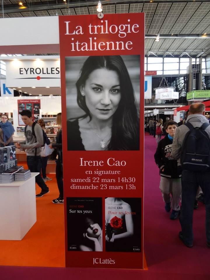 Irene Cao, Salon du Livre de Paris 2014 15514310