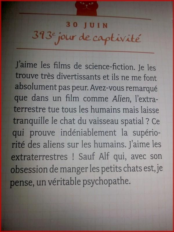 POUHIER Frédéric & JOUFFA Suzie : Journal intime d'un chat acariâtre 20140214