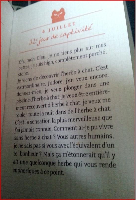 POUHIER Frédéric & JOUFFA Suzie : Journal intime d'un chat acariâtre 20140216