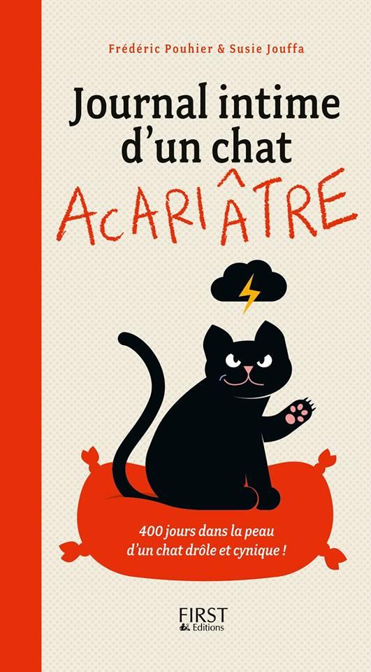 POUHIER Frédéric & JOUFFA Suzie : Journal intime d'un chat acariâtre 92346610