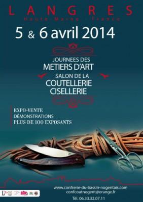 5 & 6 avril 2014: salon de la coutellerie à Langres (52) _salon11