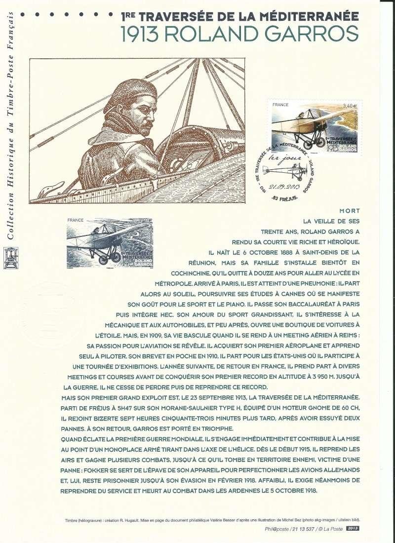 Philatélie et aviation - Page 2 Garros10
