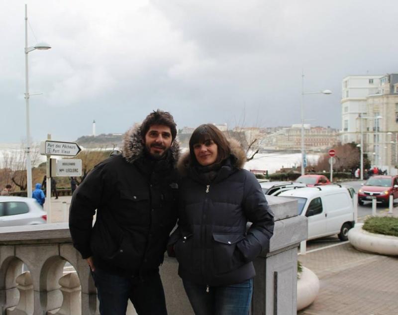 Patrick Fiori & Anne etchegoyen à Biarritz 1/02/2014 Bfaoic10