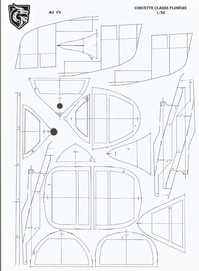 corvette class flower au 1/35 ème - Page 2 Corvet12