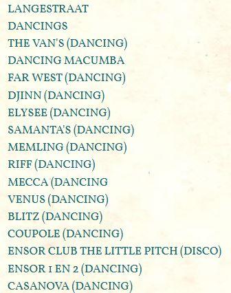 les bistrots, bars et dancings d'antan... - Page 28 Dancin10