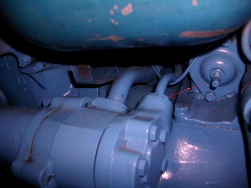 Joint - FORD 3000 Besoin d'aide pour un joint sur tuyau hydraulique Imgp0114