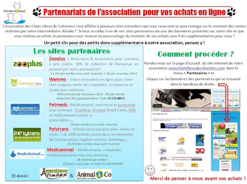 Faites vos achats animaliers en passant par notre site! Parten11