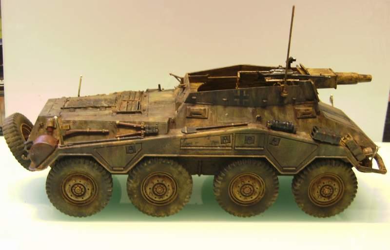 Panzerspähwagen Sd.Kfz. 234/3   1:35 Italeri  Ho0110