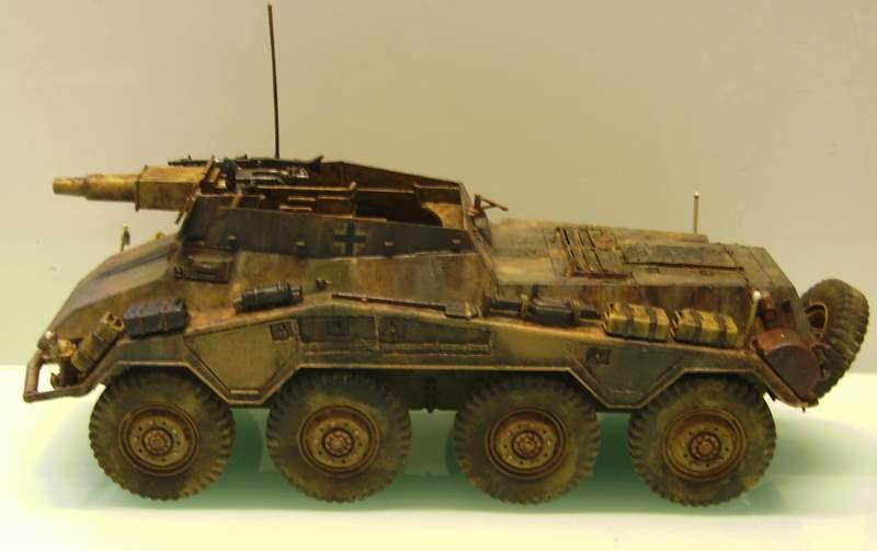 Panzerspähwagen Sd.Kfz. 234/3   1:35 Italeri  Ho0210