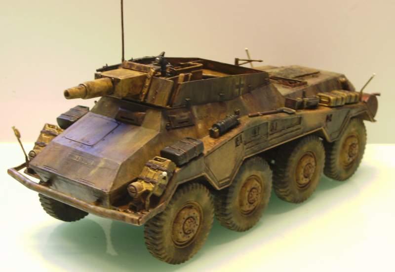 Panzerspähwagen Sd.Kfz. 234/3   1:35 Italeri  Ho0310