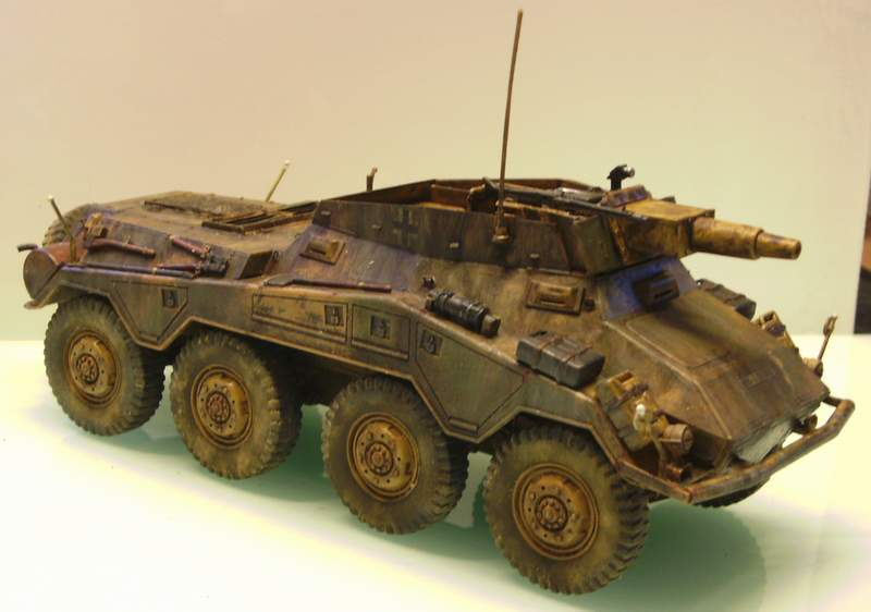 Panzerspähwagen Sd.Kfz. 234/3   1:35 Italeri  Ho0410