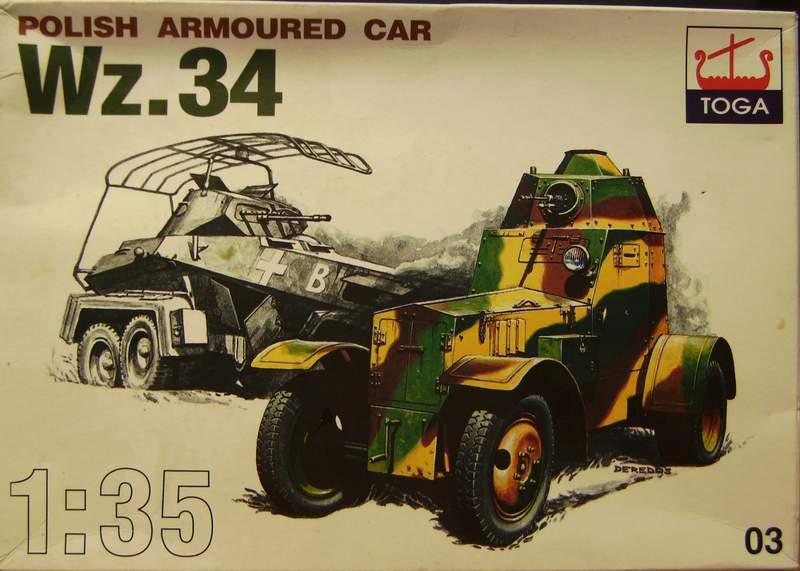Polens Radpanzer  WZ.34  in 1:35 Wz00112