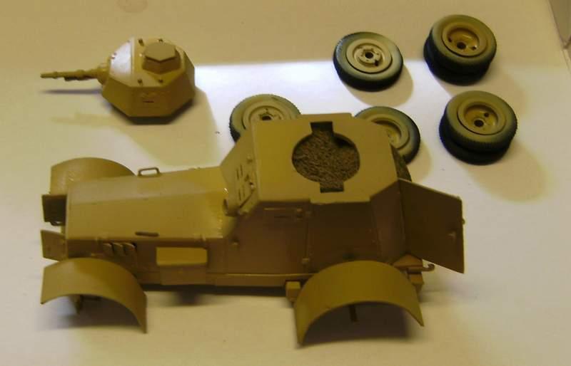 Polens Radpanzer  WZ.34  in 1:35 Wz02110
