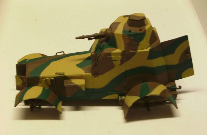 Polens Radpanzer  WZ.34  in 1:35 Wz02710