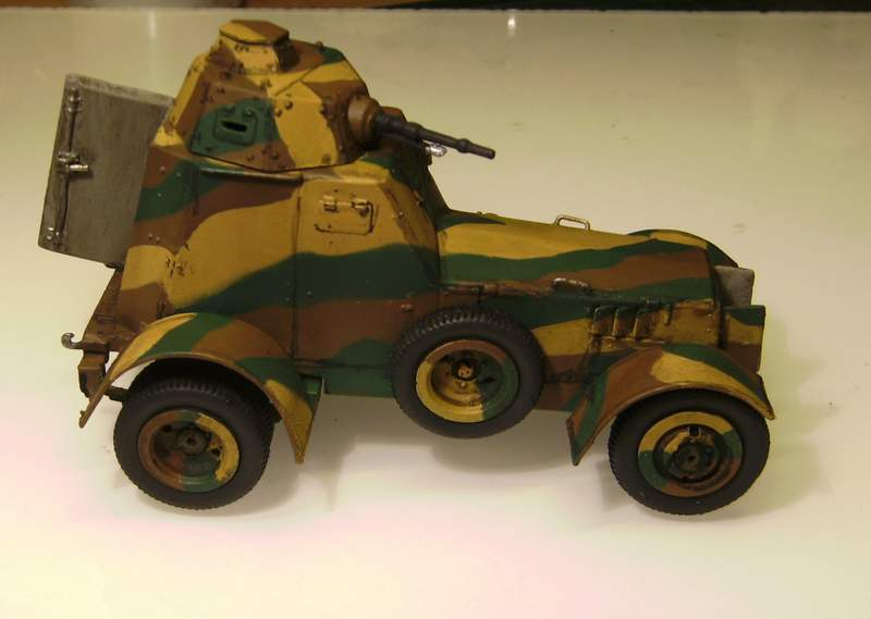 Polens Radpanzer  WZ.34  in 1:35 Wz02810