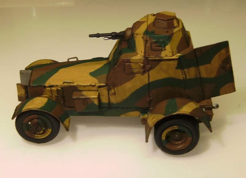 Polens Radpanzer  WZ.34  in 1:35 Wz02910