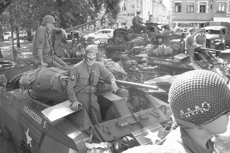 Trip 2017 de la 2nd Armored in Europe : CCB (Cobra-Camouflage-Bocage) 14324510