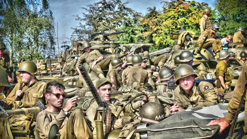 Trip 2017 de la 2nd Armored in Europe : CCB (Cobra-Camouflage-Bocage) 14409810