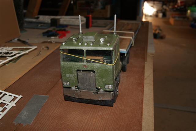 Départ sujet Diorama Team Dépannage année 1950. Dapart14