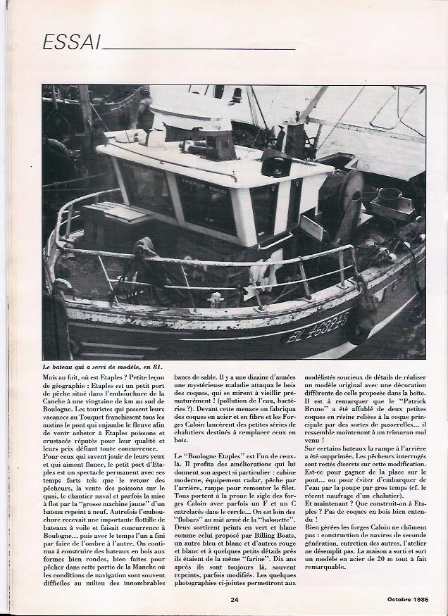 Le boulogne Etaple de Billing Boat / Scientifique France Boulog13
