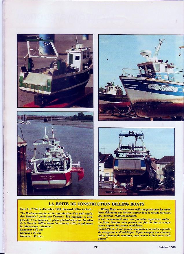 Le boulogne Etaple de Billing Boat / Scientifique France Boulog14