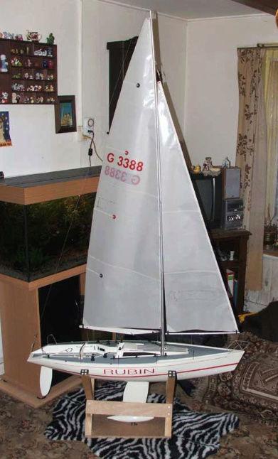 Rubin - Voilier Rubin de Graupner Captu101