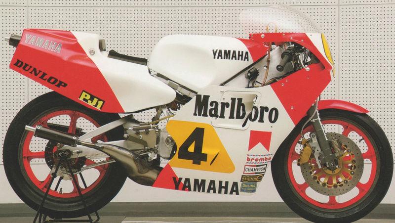 Yamaha YZR 500 cc  OWB70. Tamiya 1/12° - Page 3 Captu328
