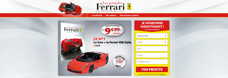 Ferrari 458 Italia Hachette collection 1 / 24° Captur84