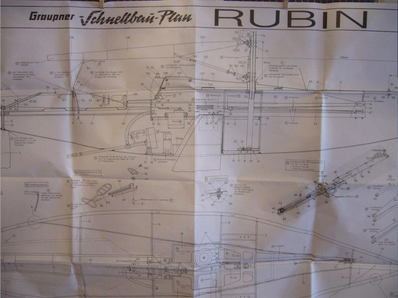 Rubin - Voilier Rubin de Graupner Captur96