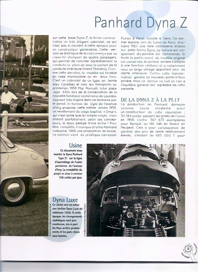Auto Vintage 1/24 ° - Page 3 Dyna_p20