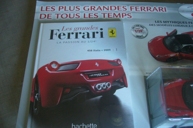 Ferrari 458 Italia Hachette collection 1 / 24° P1210750