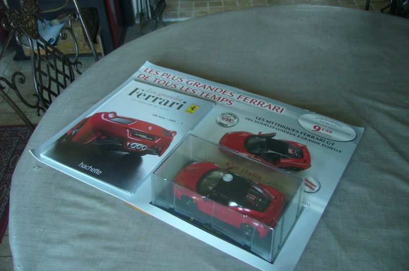 Ferrari 458 Italia Hachette collection 1 / 24° P1210753