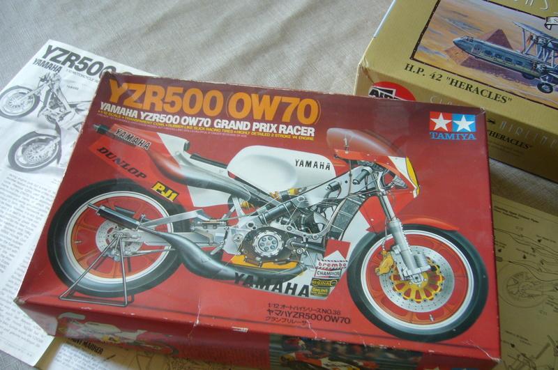 Yamaha YZR 500 cc  OWB70. Tamiya 1/12° P1220123