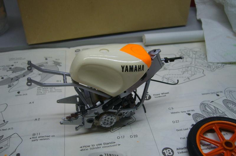 Yamaha YZR 500 cc  OWB70. Tamiya 1/12° P1220147