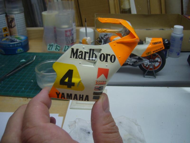 Yamaha YZR 500 cc  OWB70. Tamiya 1/12° - Page 2 P1230152