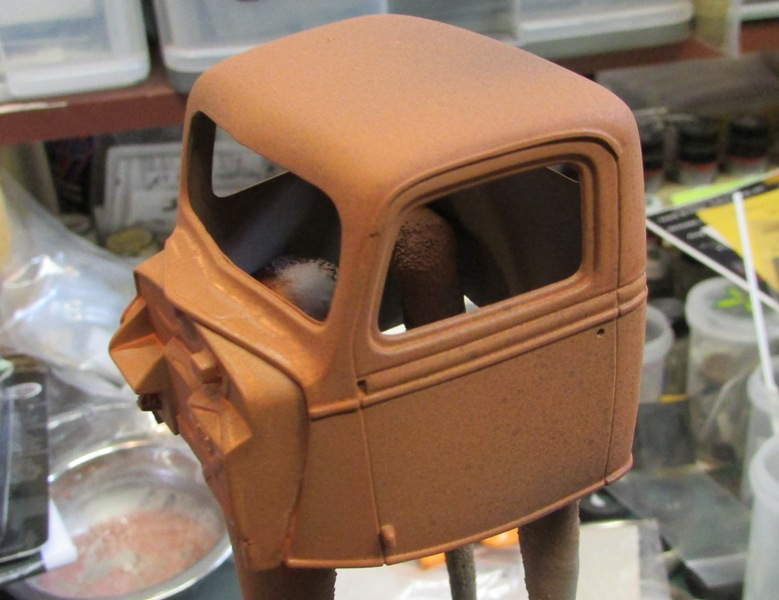 Shop report #11; 1937.  Ford Pickup Rat Rod  00320