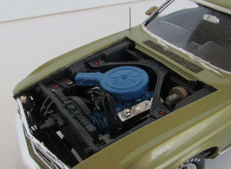1970 Mustang Mach 1 TERMINÉ 00714