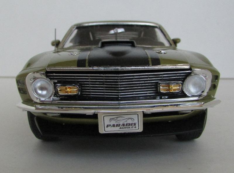 1970 Mustang Mach 1 TERMINÉ 01014