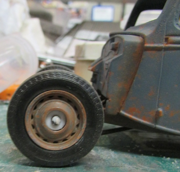 Shop report #11; 1937.  Ford Pickup Rat Rod  01213