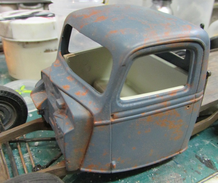 Shop report #11; 1937.  Ford Pickup Rat Rod  01313