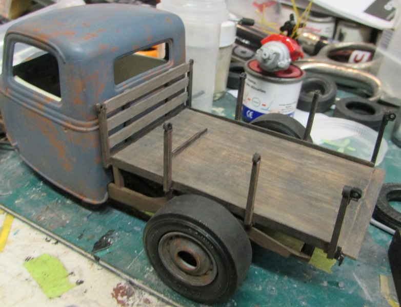 Shop report #11; 1937.  Ford Pickup Rat Rod  014_210
