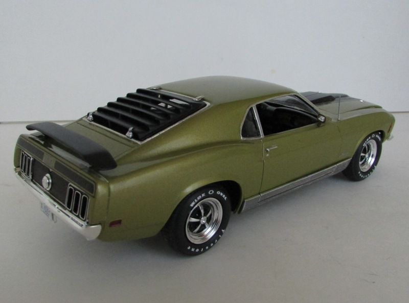 1970 Mustang Mach 1 TERMINÉ 01512